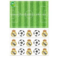 Papel de azúcar Real Madrid...