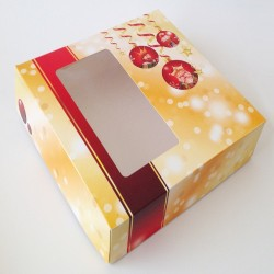CAJA TARTA NAVIDAD -LIQUIDACIÓN - FANTASTIC CAKE
