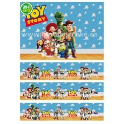 Papel de azúcar Toy Story y Cenefas para tartas
