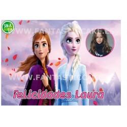 Oblea Frozen con Foto...