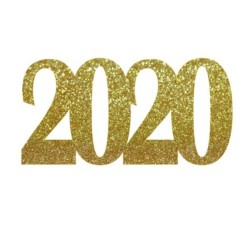 Topper 2020 para tarta