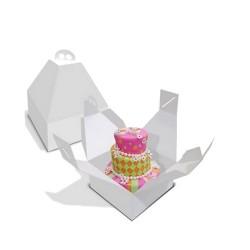 CAJA PARA TARTA ALTA 28x28x31 - FANTASTIC CAKE