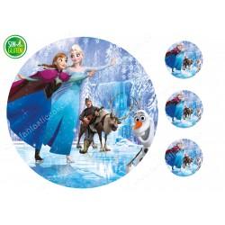 Oblea Frozen Nº 800