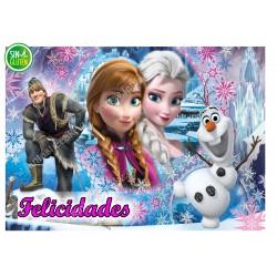 Oblea Frozen Felicidades Nº...