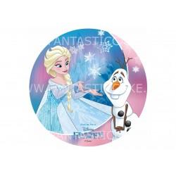 Oblea Frozen y Olaf Nº 813