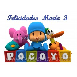 Oblea Pocoyo Nº 823...