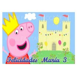 Oblea de Peppa Pig Nº...