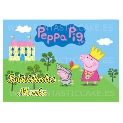 Oblea de Peppa Pig Nº 833...