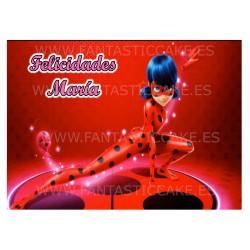 Oblea Ladybug Personalizada...