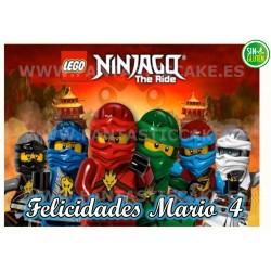 Oblea Ninjago Personalizada...