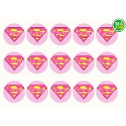 Obleas Superman chica para...