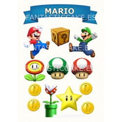 Toppers Mario Bross...