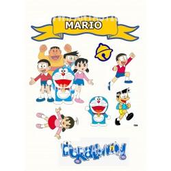 Toppers Doraemon Personalizado