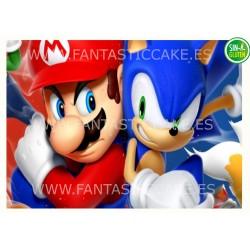 Oblea Sonic y Mario Bros...