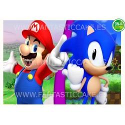 Oblea Mario Bros y Sonic...