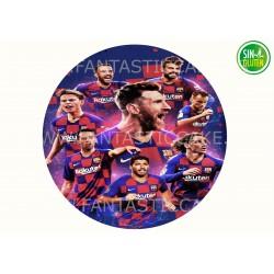 Oblea Fútbol Club Barcelona...