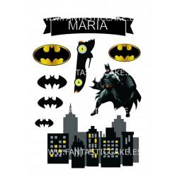 Toppers Batman Personalizado