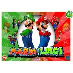 Oblea Mario Bros y Luigi...