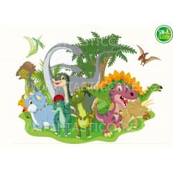 Oblea Dinosaurios para...