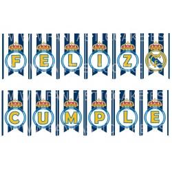 Guirnalda Fútbol Real Madrid