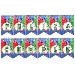 Palitos de piruletas de 20 cm PME (25 Uds)