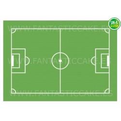 Oblea Campo de Fútbol Nº 815 - Fantastic Cake