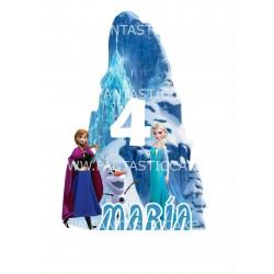 Topper Frozen Personalizado...