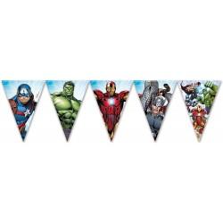Banderines de los Vengadores - Fantastic Cake