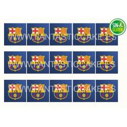 Obleas Cuadradas FC Barcelona Nº 954