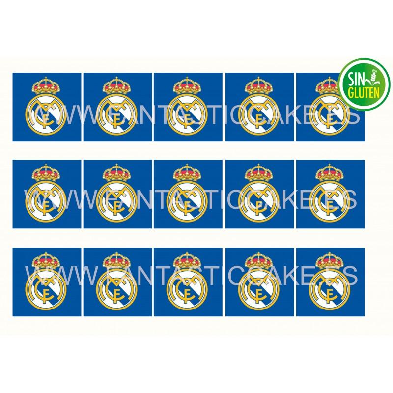 Obleas Cuadradas Real Madrid Nº 955