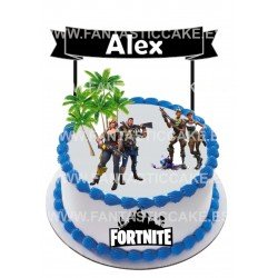 Toppers Fortnite 2 Personalizado