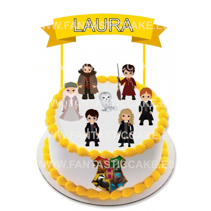 Toppers Harry Potter Personalizado