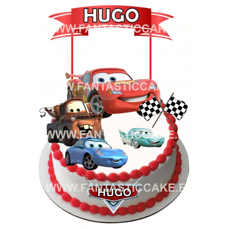 Toppers Cars Personalizado