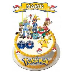 Toppers Pokemón Personalizado