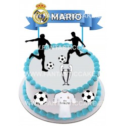 Toppers Real Madrid Personalizado