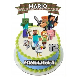 Toppers Minecraft Personalizado