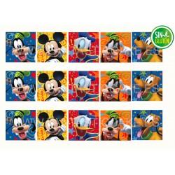 Obleas Cuadradas Mickey Mouse Nº 965