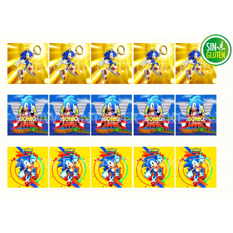Obleas Cuadradas Sonic Nº 962
