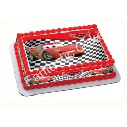 Papel de azúcar Cars - Rayo Mcqueen para tartas