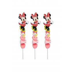 Brochetas para chuches (9 Uds) Minnie