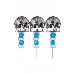 Brochetas para chuches (9 Uds) Fortnite