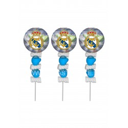 Brochetas para chuches (9 Uds) Real Madrid