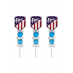 Brochetas para chuches (9 Uds) Atlético del Madrid