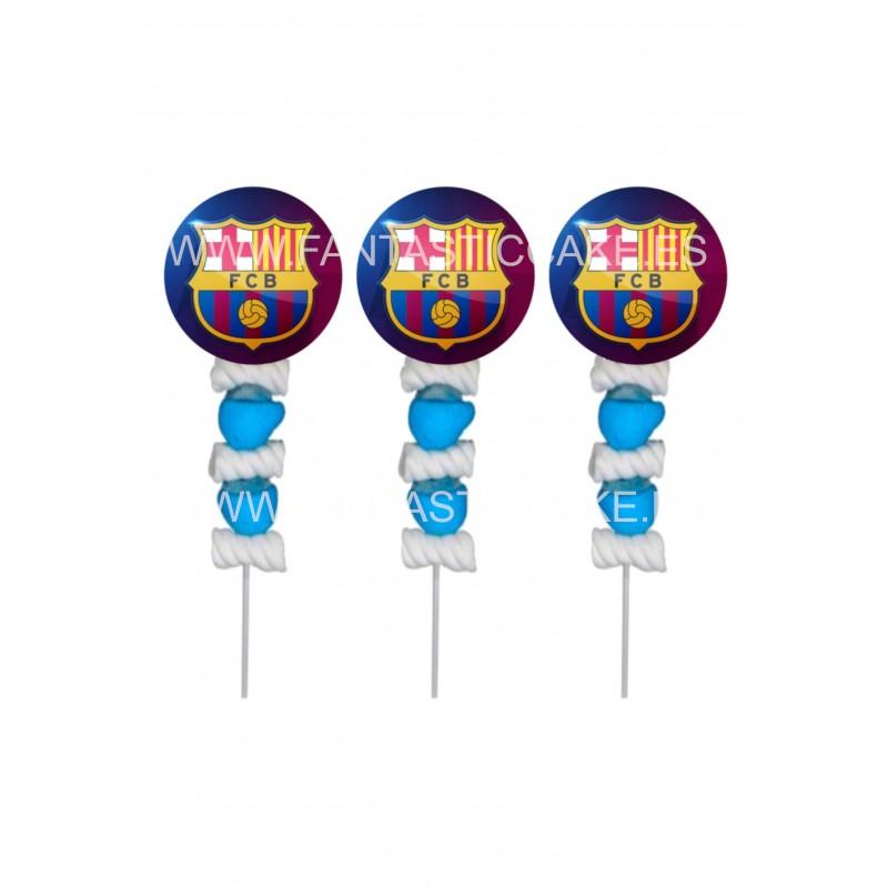 Brochetas para chuches (9 Uds) FC Barcelona