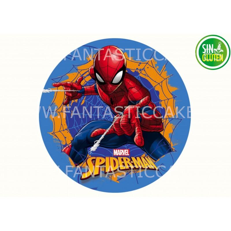Oblea Spiderman para tarta Nº 970