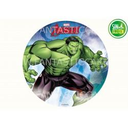 Oblea Hulk para tarta Nº 973
