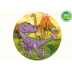 Oblea Dinosaurio para tarta Nº 978