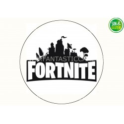 Oblea Logo Fortnite para tarta Nº 979