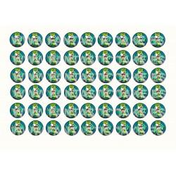 Oblea para Minioreos Ben 10 Nº 980