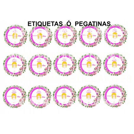 Oblea Redonda Princesa Sofia Nº 9